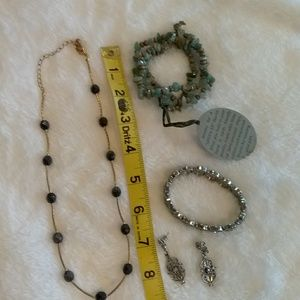 Jewelry collection.   Gently used fun costume.